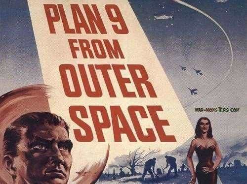 Plan 9 from Outer Space || Libreplay films, séries et libres de droits et du domaine.